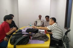 Korean Business Meeting