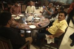 Visiting Saudi Businessmen to India